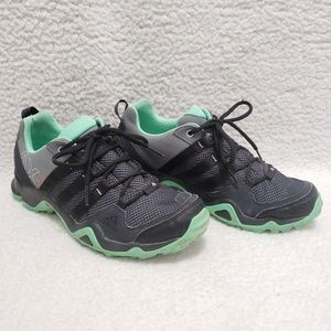 Adidas | Black Gray Green Glow Sneakers